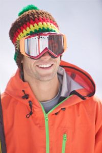 Ryan in ski goggles