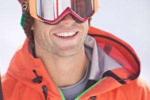 Ryan in ski goggles