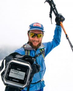 Aaron Rice shows 2 million human powered vertical feet skied