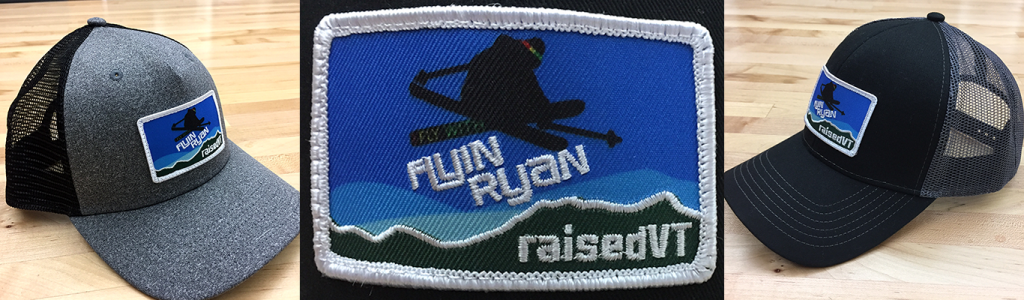 Flyin Ryan - raised VT trucker hat