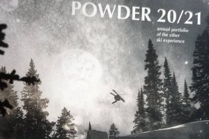 Powder mag winter 20/21 cropped with Tami Razinger